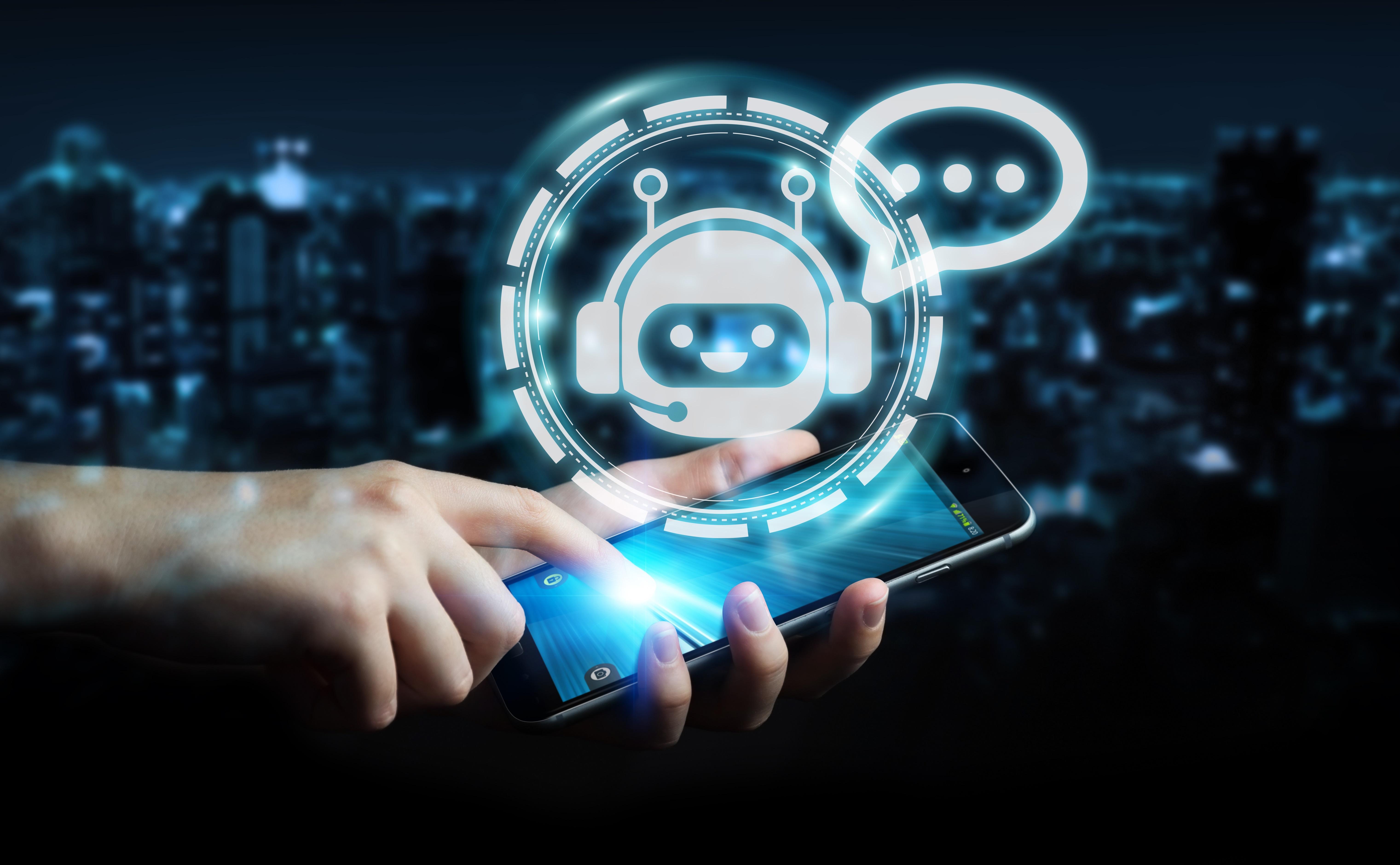 Obecnie chatboty prowadzą rozmowy z użytkownikami. (fot. pixabay)