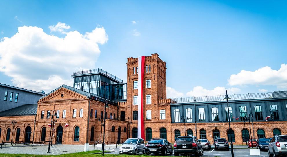 Jeden z wielu budynków ŁSSE (fot. ŁSSE/facebook.com)