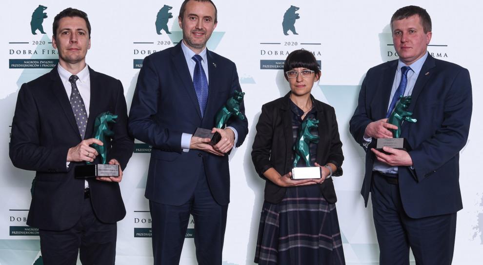 ZPP nagrodził Dobre Firmy 2020 województwa śląskiego