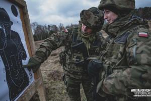 Pierwsza przysięga żołnierzy WOT na Ziemi Lubuskiej