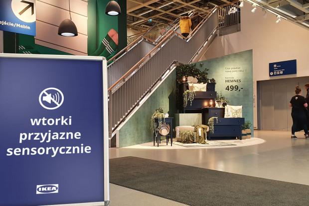 IKEA Kraków sklepem przyjaznym sensorycznie