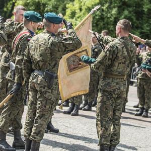 W Brańsku żołnierze WOT złożyli przysięgę
