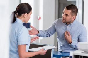 Agresja jest powszechna w pracy pielęgniarek
