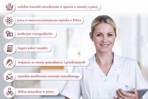 Szpital Uniwersytecki w Krakowie szuka pielęgniarek