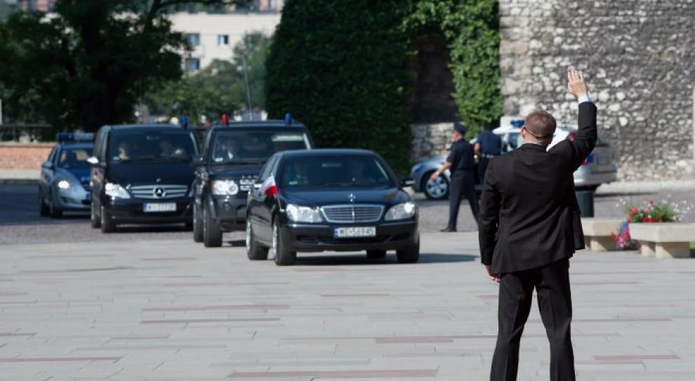 Funkcjonariusz SOP zawieszony. Wszczęto postępowanie dyscyplinarne