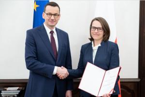 Magdalena Rzeczkowska nową szefową Krajowej Administracji Skarbowej