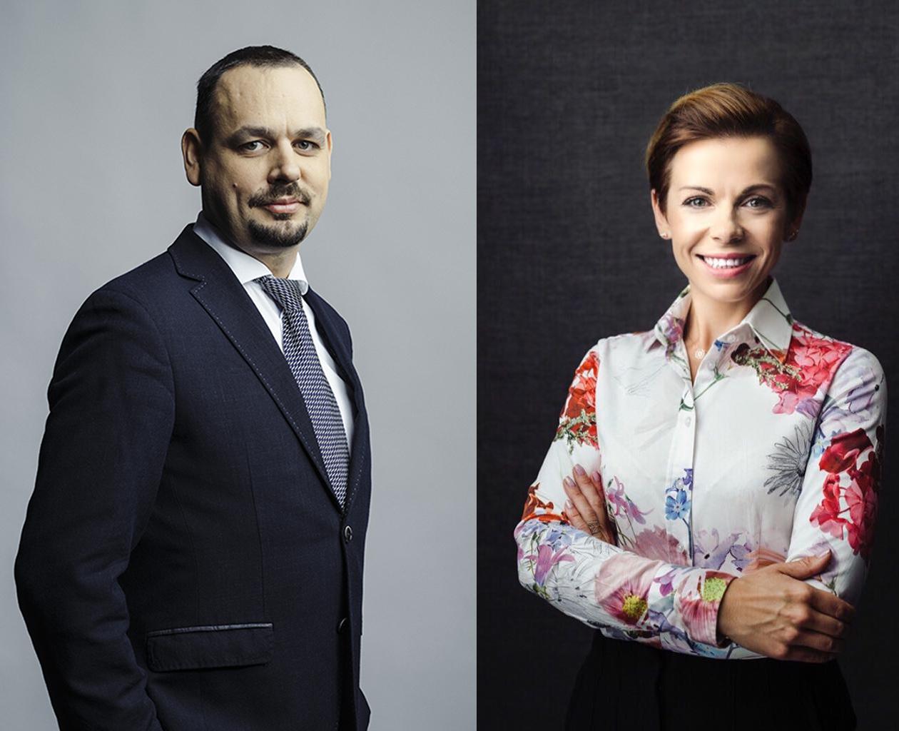 Mikołaj Wójcik i Karolina Łuczak (fot. mat.pras.)