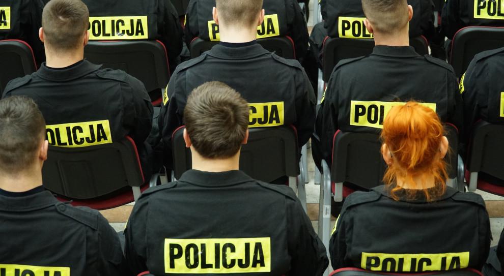 Policja łagodzi kryteria naboru