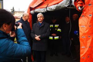 PSP: w 31 szpitalach strażacy przeprowadzili ćwiczenia na wypadek epidemii koronawirusa