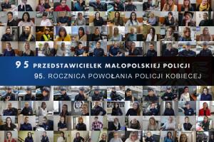 Małopolska policja prezentuje galerie z portretami 95 policjantek