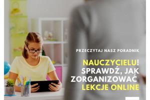 Ministerstwo Cyfryzacji radzi nauczycielom, jak zorganizować lekcje online
