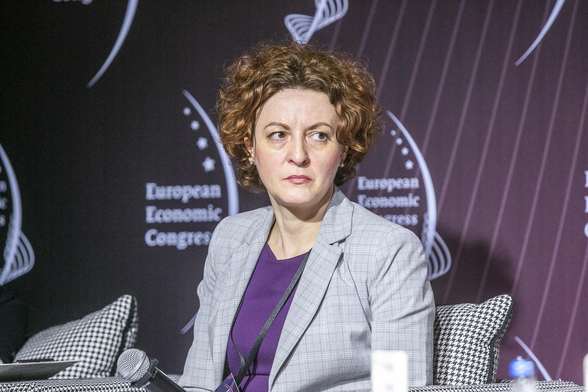 Maria Borek, naczelnik Wydziału Form Wsparcia Zatrudnienia w Departamencie Rynku Pracy Ministerstwa Rodziny, Pracy i Polityki Społecznej (fot. MM)