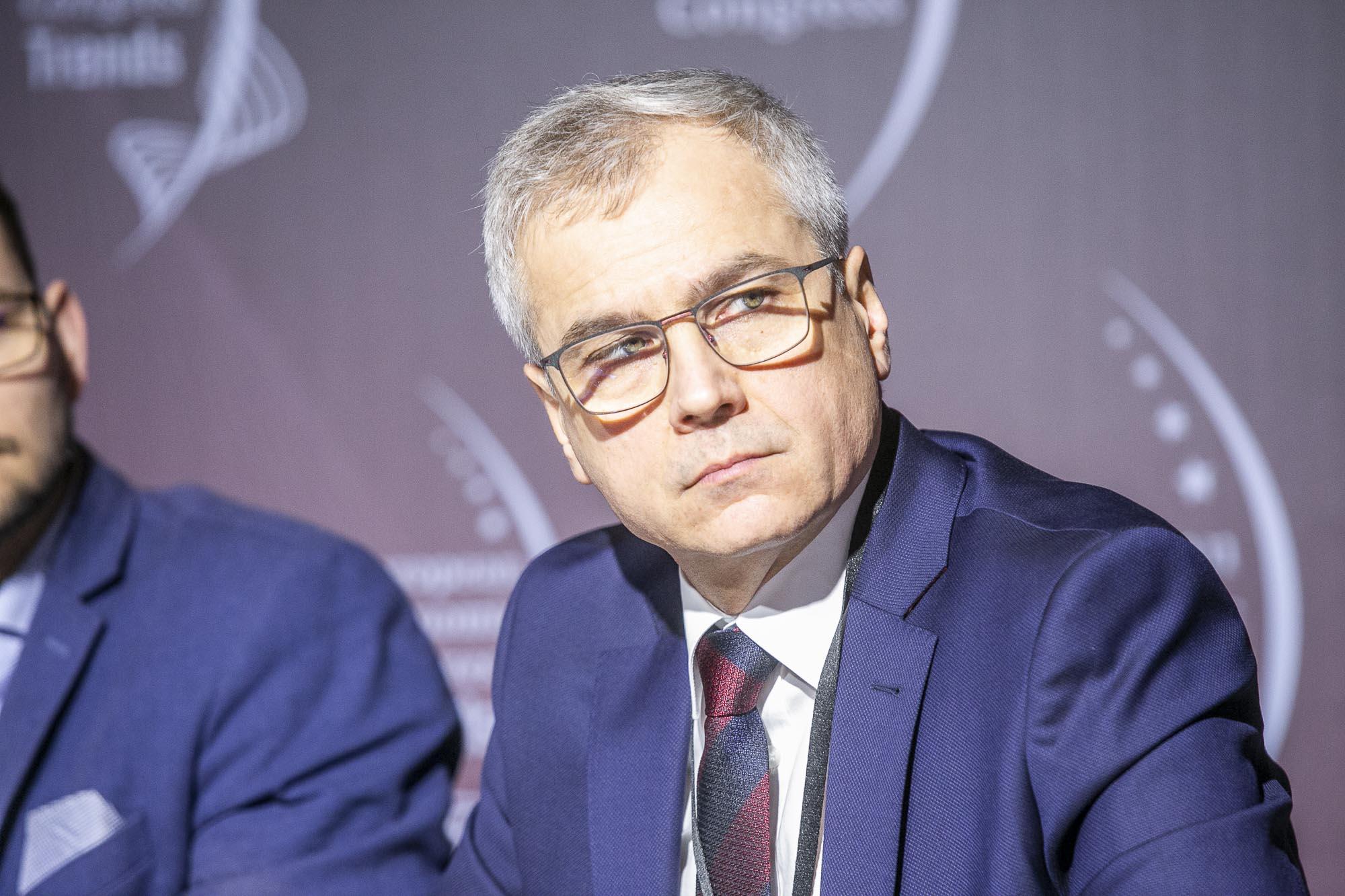 Prof. Arkadiusz Mężyk, rektor Politechniki Śląskiej (fot. MM)