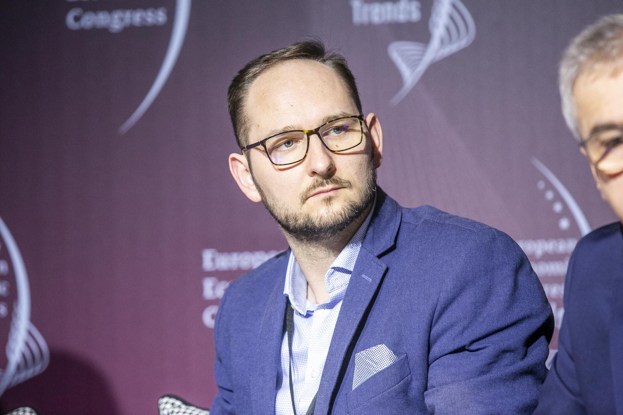 Bartosz Majewski, prezes Software Development Association Poland - SoDA (fot. MM)