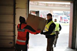 Dostarczanie żywności i leków wśród głównych działań żołnierzy WOT