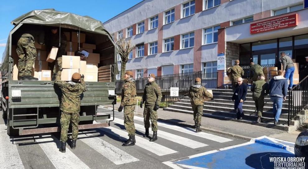 Szef MON: Ponad 4 tys. żołnierzy zaangażowanych w walkę z koronawirusem