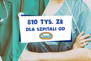 Koral przekaże ponad 800 tys. zł dla szpitali