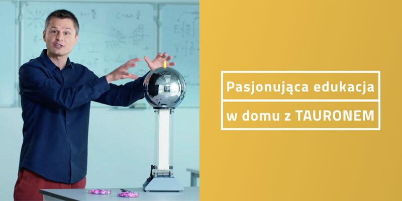 Tauron proponuje nauczycielom i rodzicom m.in. gotowe scenariusze lekcji (fot. mat. pras. Tauronu)
