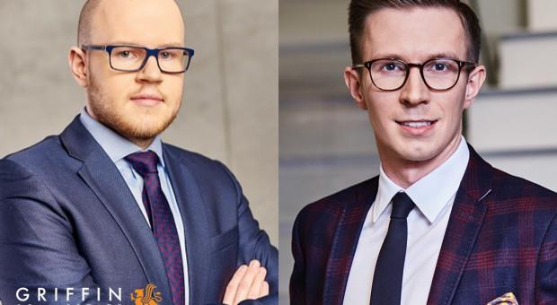Adrian Mieloch i Jakub Art dołączają do Griffin Real Estate