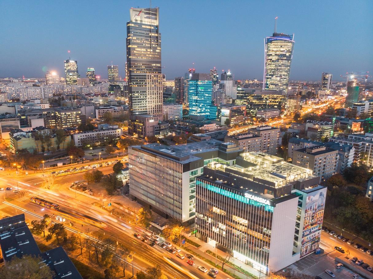 Spark C jako pierwszy w Polsce otrzymał certyfikat WELL Core&Shell. (Fot. Skanska)