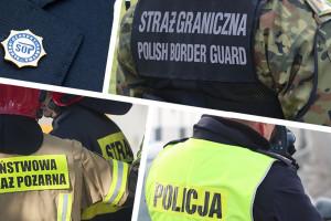 Pracowity weekend dla służb mundurowych na Śląsku