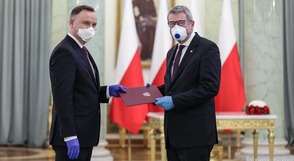 Prezydent powołał Wojciecha Murdzka na stanowisko ministra nauki i szkolnictwa wyższego