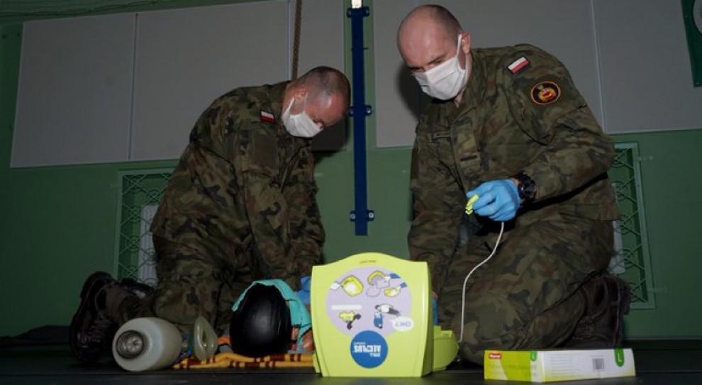 Żołnierze przejdą szkolenie z zasad pobierania materiału biologicznego