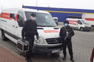 Poczta Polska wydaje miliony na bezpieczeństwo pracowników