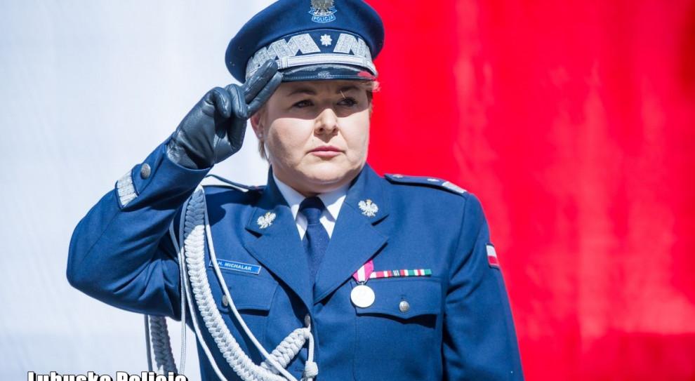 Helena Michalak żegna się z mundurem i stanowiskiem szefa lubuskiej policji