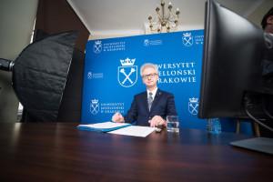 Kraków: Prof. Jacek Popiel 306. rektorem Uniwersytetu Jagiellońskiego