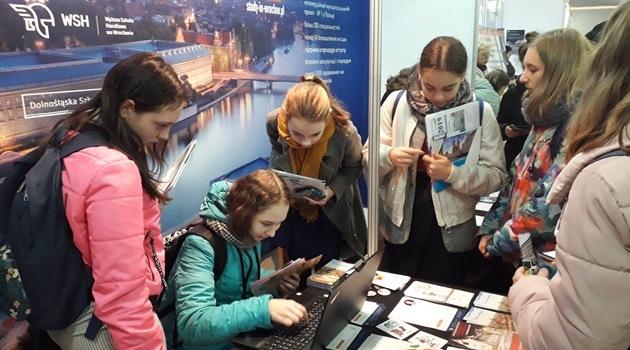 W ramach projektu Study in Wrocław szkoły wyższe promują się m.in. na Ukrainie, Białorusi i w Rosji (fot. UMW)