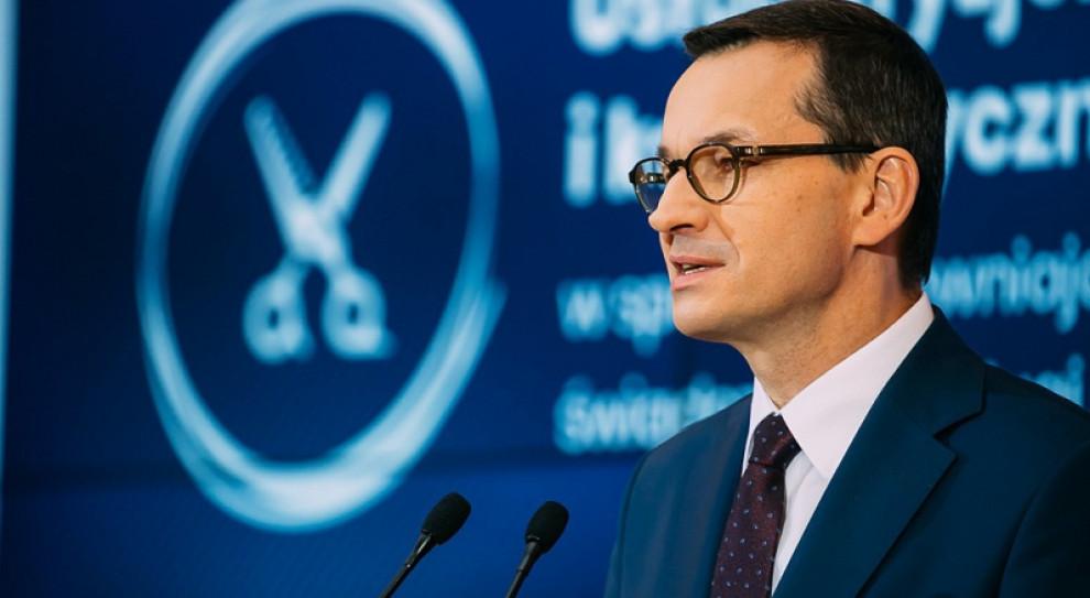 Morawiecki: Dziennie 1,5 mld zł pomocy dla firm w ramach Tarczy finansowej