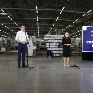 Premier: Firma Monolit zatrudni nowych pracowników dzięki Tarczy Finansowej