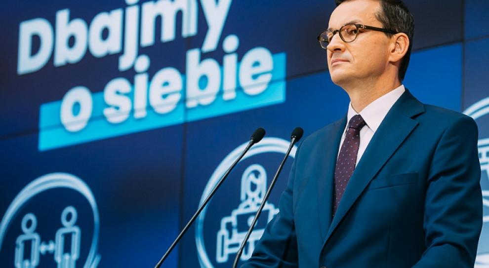 Morawiecki: 57 proc. polskich firm otrzymało już państwowe wsparcie