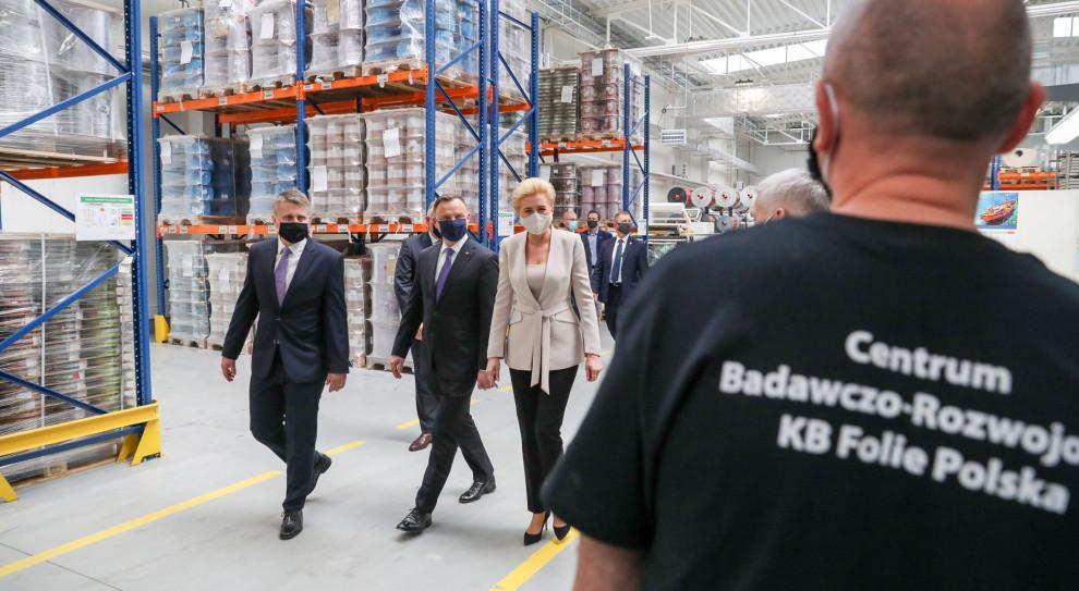 Prezydent: Współpracuję z rządem, aby pomoc dla przedsiębiorców była niezwłoczna