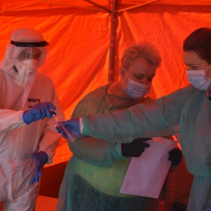 Nauczyciele testowani na obecność koronawirusa