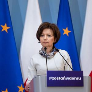 Marlena Maląg, minister rodziny pracy i polityki społecznej