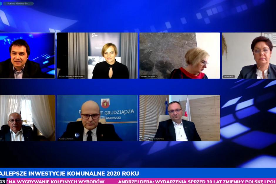 """Uczestnicy sesji """"Przyszłość samorządu w Polsce – gospodarka i inwestycje"""""""