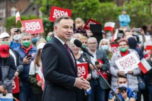 Duda: Chcę Polski, w której będzie praca i lepsze pensje