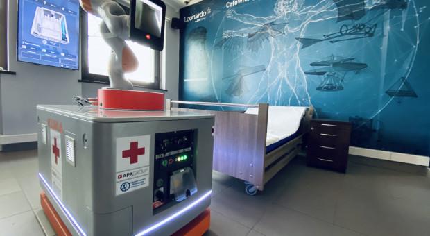 Polscy inżynierowie zaprojektowali robota, który pomoże medykom w walce z COVID-19