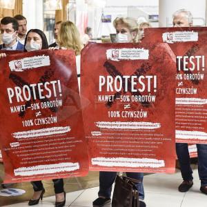 Najemcy galerii handlowych protestują. Obroty spadły, wysokość czynszów nie