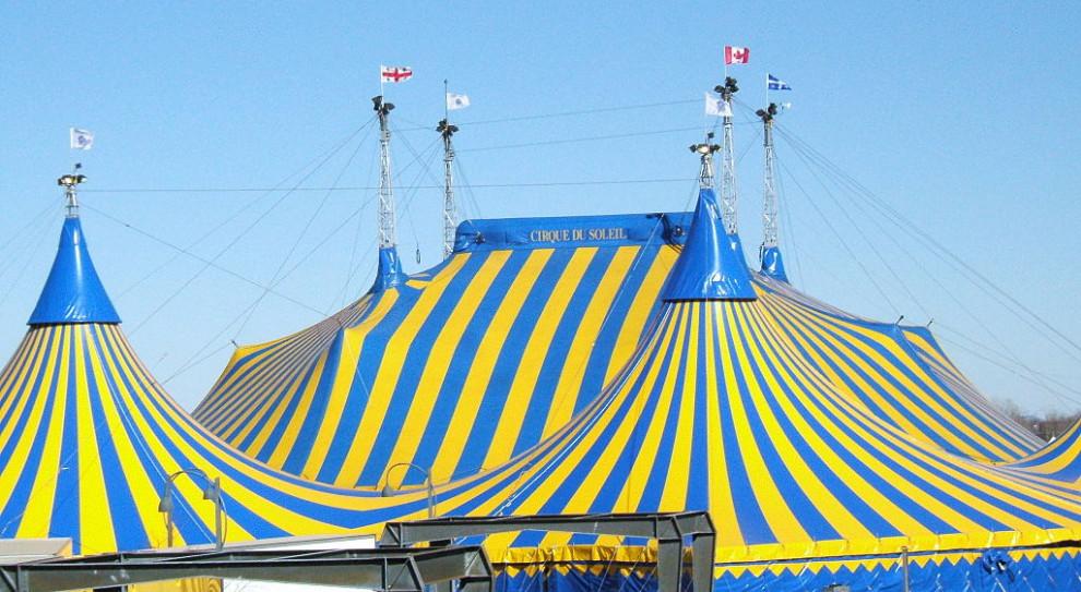 Firma Cirque du Soleil bankrutuje. Szykują się masowe zwolnienia pracowników