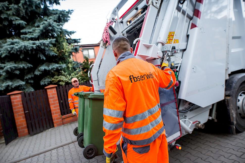 W FBSerwis na etacie pracuje ponad 580 osób, zajmujących się gospodarką odpadami. (Fot. FBSeriws)