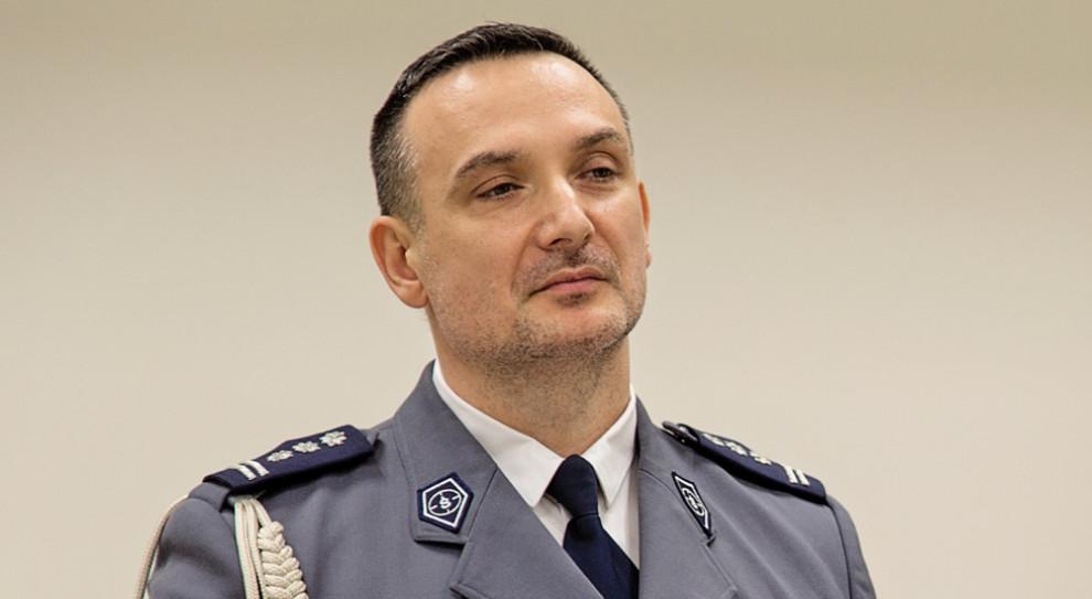 Komendant CBŚP Paweł Półtorzycki został generałem