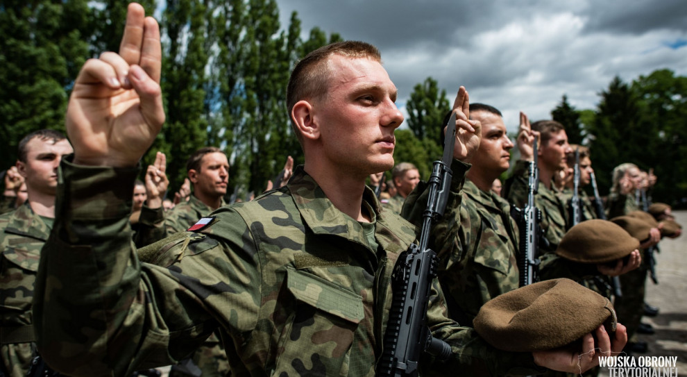 Terytorialsi wznowili rekrutację żołnierzy