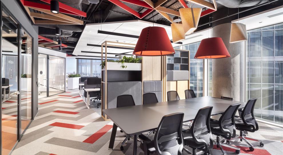 Siłownia, relax room, sala do jogi. Pracownicy Cushman & Wakefield mają nowe biuro