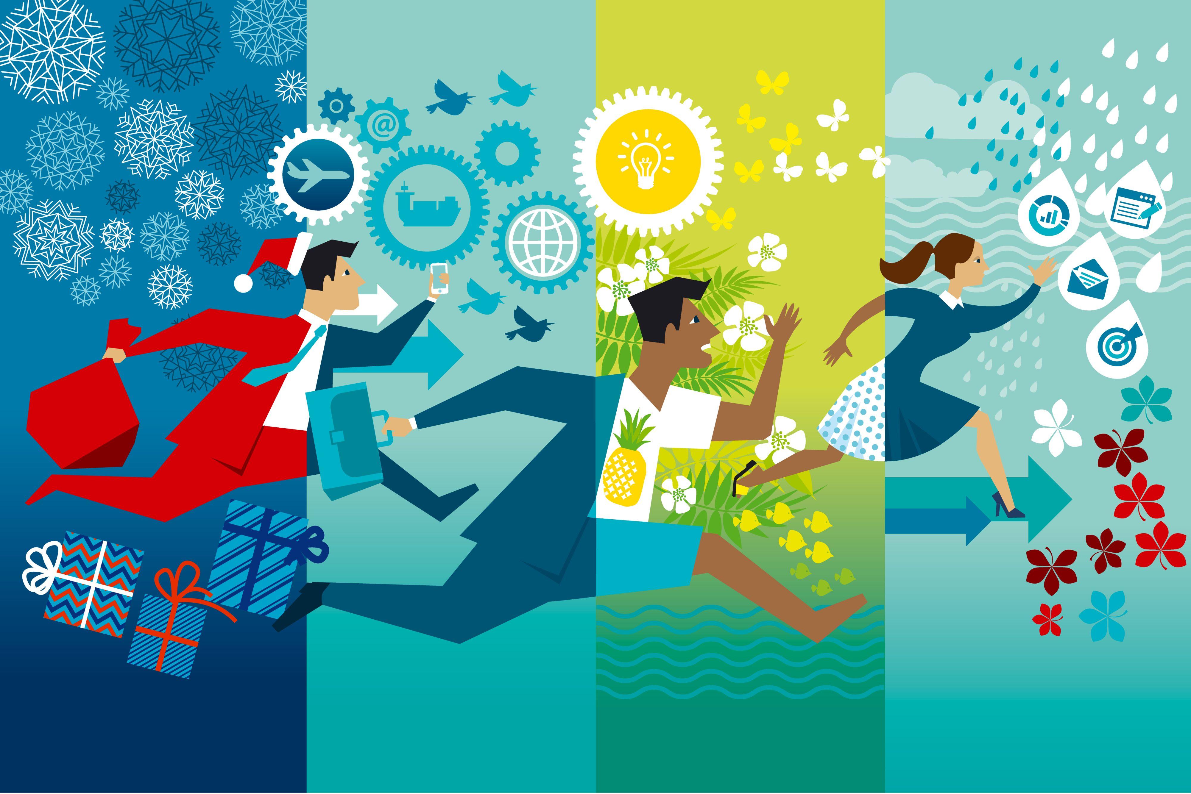 Pracoholicy mają problem z wypoczynkiem, który nie stanowi dla nich miłego i wyczekiwanego oderwania się od wykonywanej pracy. (Fot. Shutterstock)