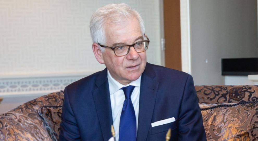 Jacek Czaputowicz rezygnacje ze stanowiska ministra spraw zagranicznych