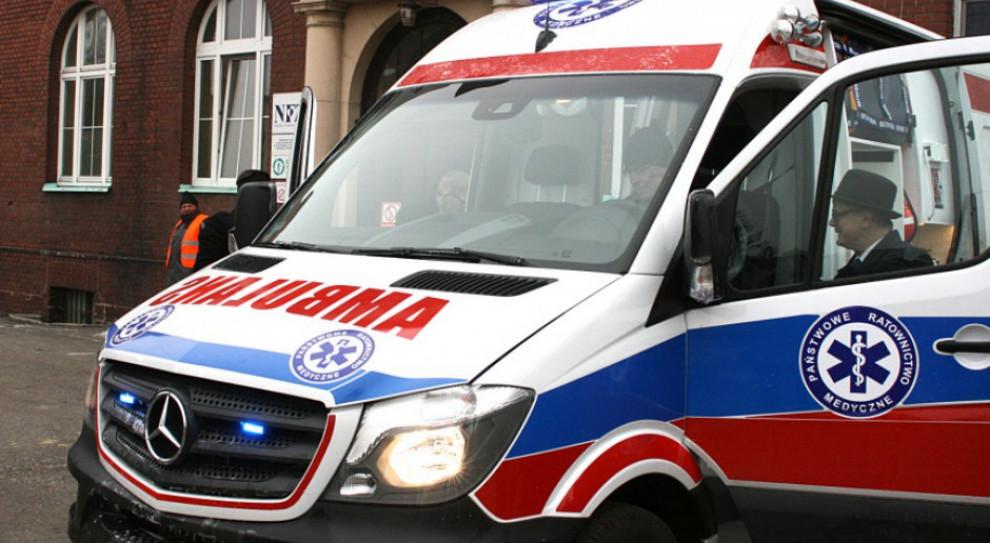 Opoczno: Pijany zaatakował butelką ratownika medycznego