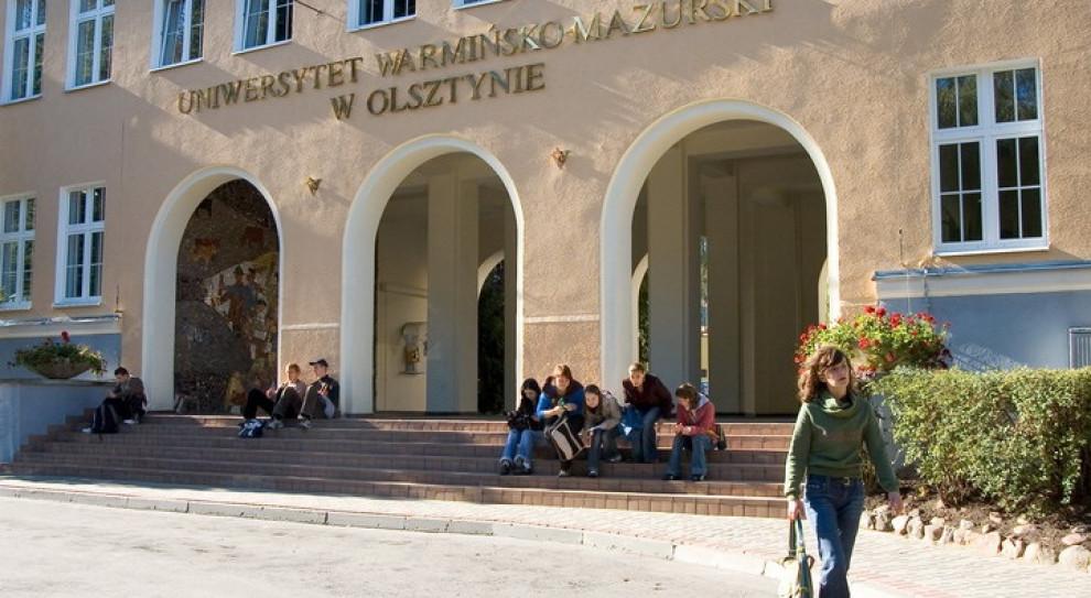 Na Uniwersytecie Warmińsko-Mazurskim stacjonarnie będzie się uczyć ok. 3 tys. studentów